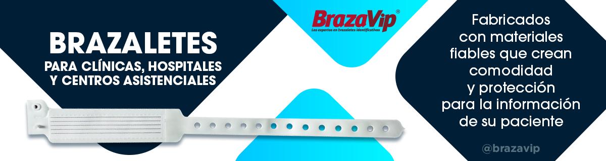 Brazaletes para centros de atención - BrazaVip